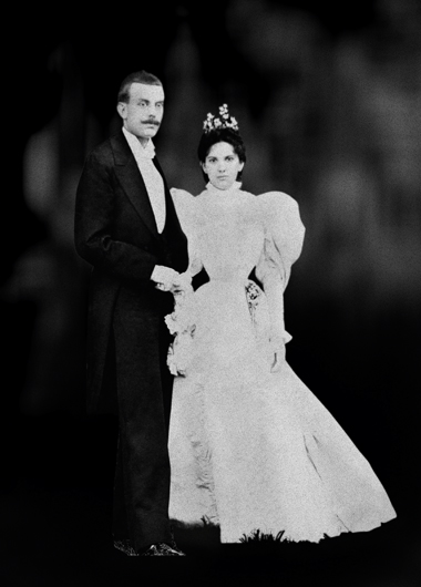 Estelle Arpels e Alfred Van Cleef