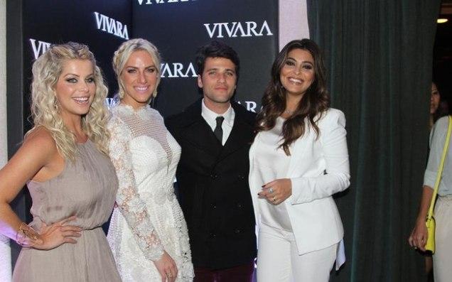 Karina Bacchi, Giovanna Ewbank, Bruno Gagliasso, Juliana Paes