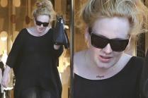 Adele escolheu o nome do seu filho, Angelo, para colocar no colar