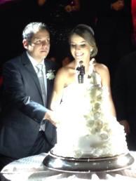Noiva Mayra  e Guilherme com joias exclusivas casa sao paulo joias