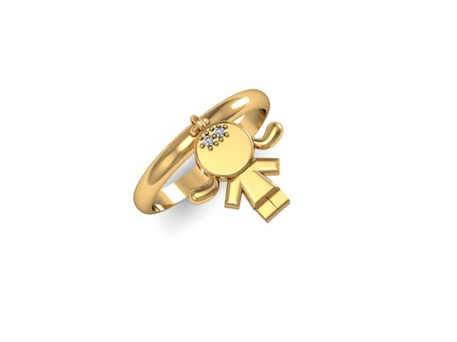 Anel de Ouro 18k  (1)