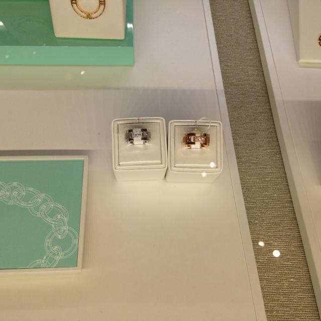 anéis da Tiffany