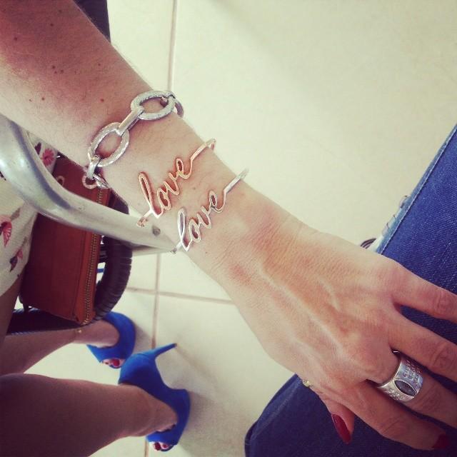 bracelete love dia dos namorados