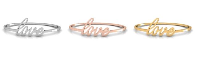 bracelete para o dia dos namorados