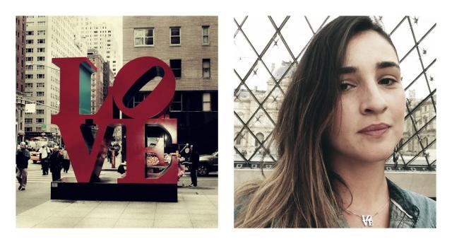 colar love obra de nova york