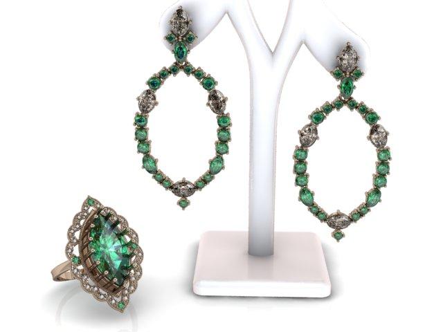 Joias com esmeraldas são atemporais e sempre combinam sofisticação e elegância!