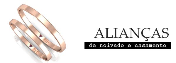 Alianças Ouro Rosé, uma tendência.
