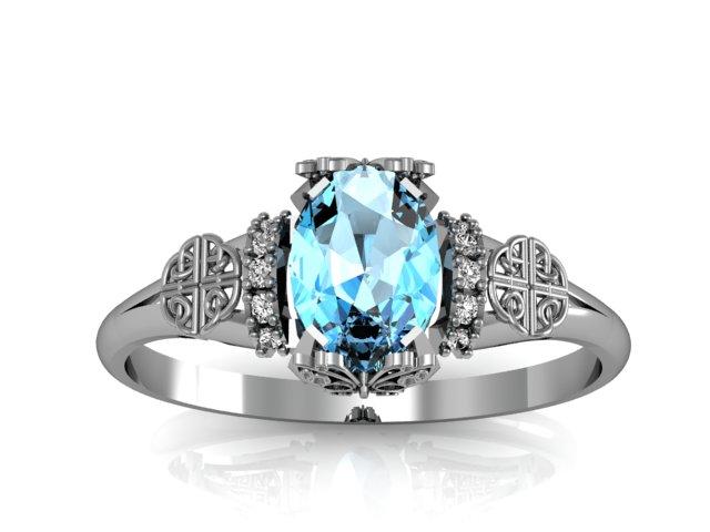 anel de noivado personalizado