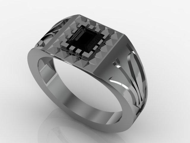 anel com pedra para dia dos pais