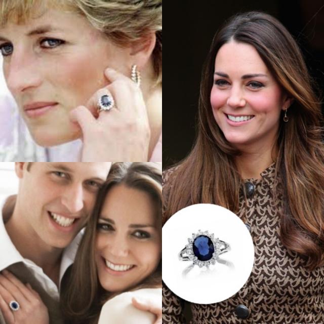 Anel de Noivado da Kate Middleton