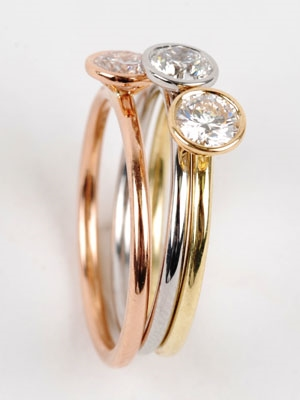 Audrey Hepburn anel de noivado