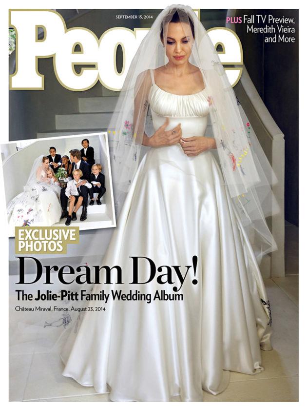 Cerimônia de Angelina E Brad Pitt