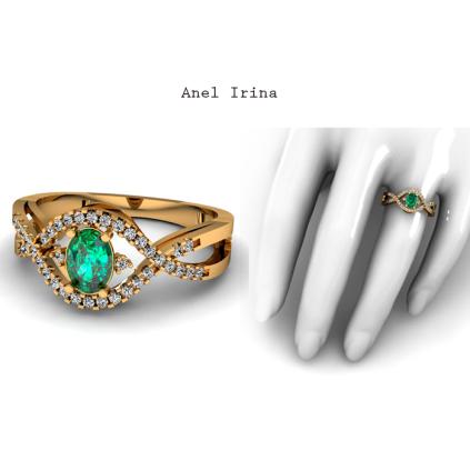 O Anel Irina é uma joia sofisticada, seu design evidencia a Esmeralda ao redor de 38 diamantes de 1 ponto cravejados. Esta joia é perfeita para mulheres de bom gosto e atitude. É um modelo moderno com pedras que refletem luxo e sofisticação. https://www.casasaopaulojoias.com.br/produto/734836/irina-anel-de-formatura-de-ouro-amarelo-com-esmeralda