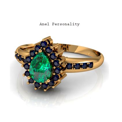 Com uma linda esmeralda protagonizando o anel cercado por safiras, esta joia é ideal para mulheres modernas e elegantes. Consulte o valor via atendimento por whats-app: (011) 9.5851-5611 https://www.casasaopaulojoias.com.br/busca/esmeralda