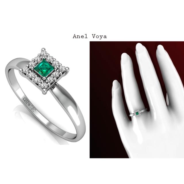 Anel Voya de Ouro com esmeralda e diamantes cravejados exibe um brilho encantador. https://www.casasaopaulojoias.com.br/busca/esmeralda