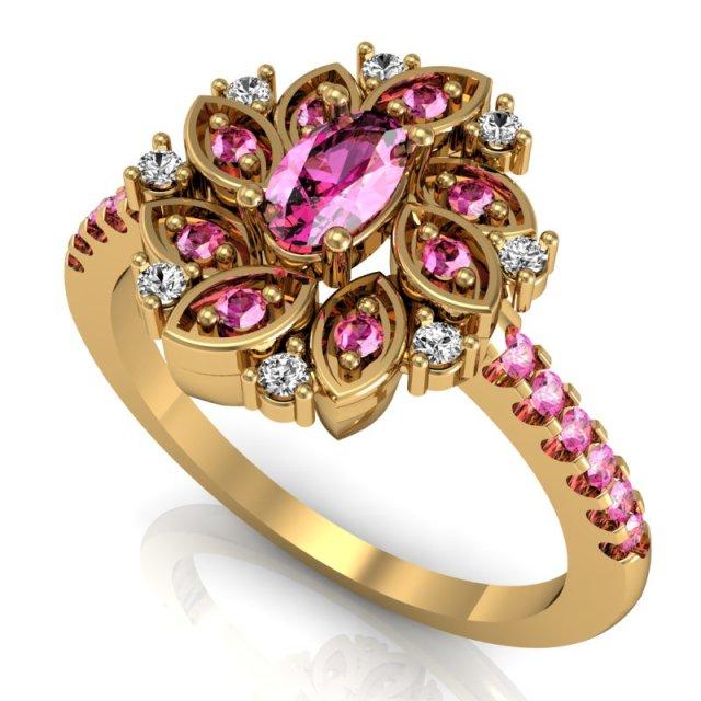rosa quartzo jardim encantado safira rosa