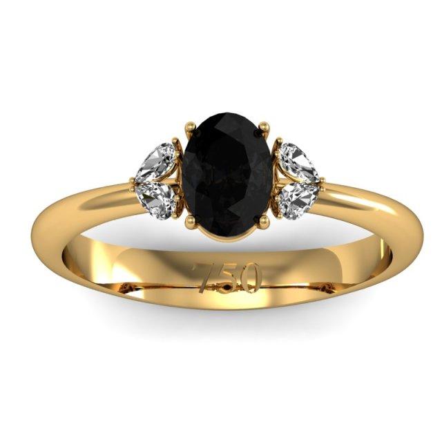 782035471_Anel Celebre - Ouro Amarelo, Onix e Brilhantes